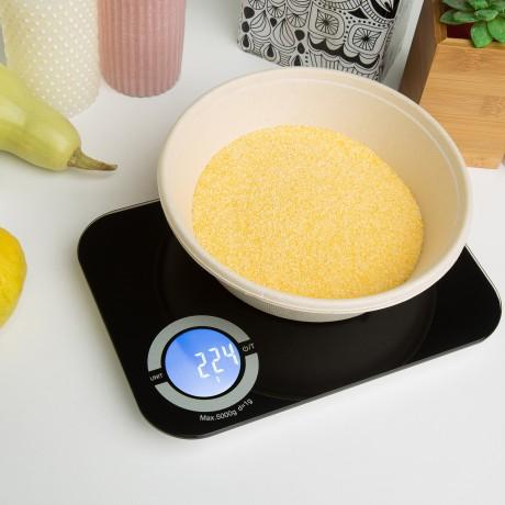 Cantar de bucatarie Heabsy Kitchen Special K39Y, 8 kg, Negru