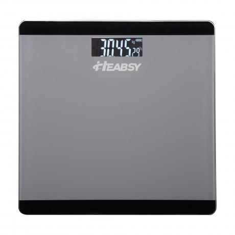 Cantar electronic de persoane Heabsy START-BI, 180 kg, Negru