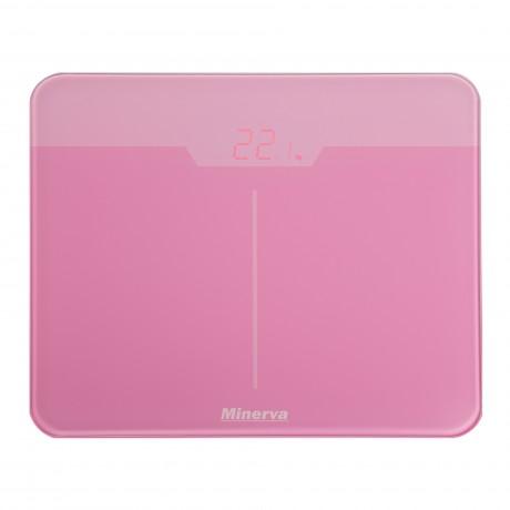 Cantar electronic de persoane Minerva Experience Rose Noir B32E, 180 kg, Roz
