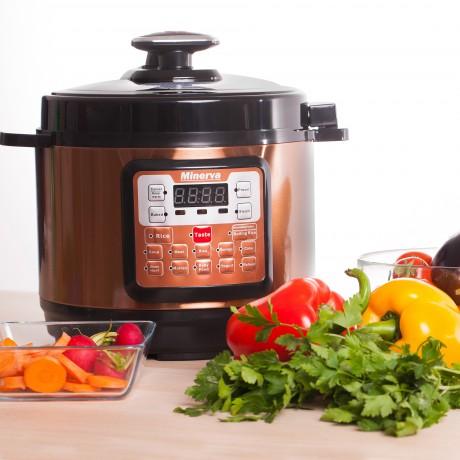 Multicooker Minerva Experience D508, 900 W, 5 L, 14 programe, Maro