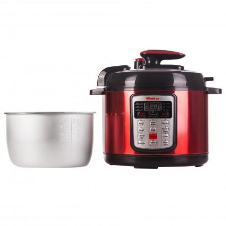 Multicooker Minerva Experience D511, 900 W, 5 L, 13 programe, Rosu