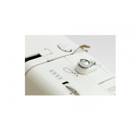Masina de cusut electromecanica Minerva A190, 21 programe, 800 imp/min, 85W, Alb/Bleu