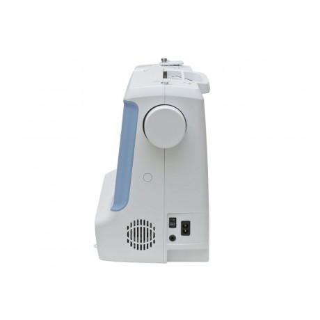 Masina de cusut digitala Minerva DECORBASIC, 12 programe, 800 imp/min, 70W, Alb/Bleu