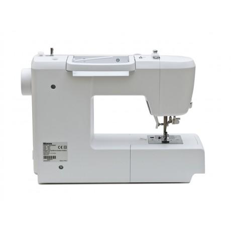 Masina de cusut digitala Minerva DECORMASTER, 80 programe, 800 imp/min, 70W, Alb/Mov