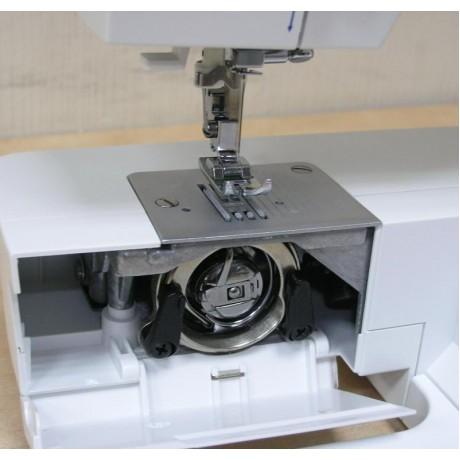 Masina de cusut electromecanica Minerva E20, 35 programe, 800 imp/min, 70W, Alb