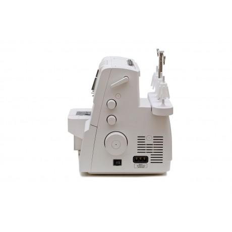 Masina de acoperire Minerva Flatlock M2000C, 4 programe, 1100 imp/min, 120W, Alb