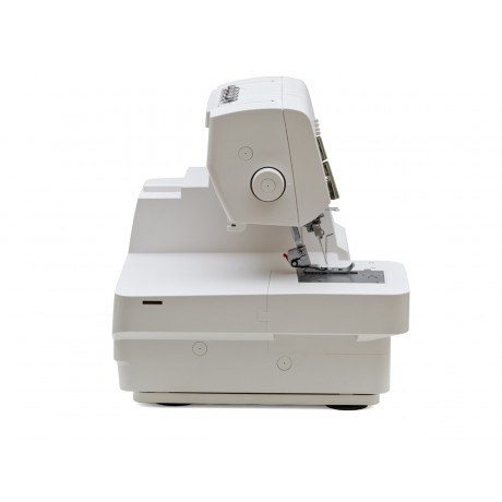 Masina de acoperire Minerva Coverstitch M2000PRO, 4 tipuri de cusatura, 1200 imp/min, 120W, Alb