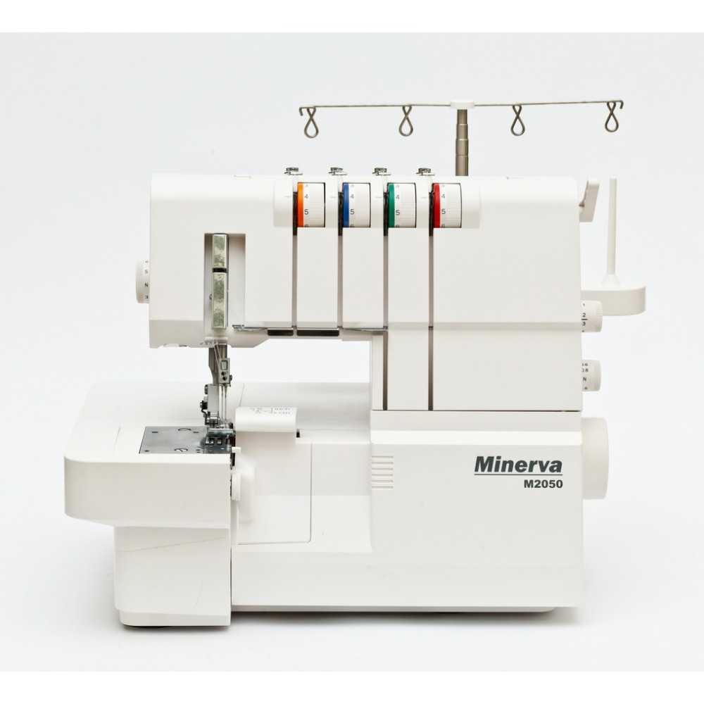 Masina de surfilat Minerva Overlock M2050, 16 programe, 1100 imp/min, 120W, Alb