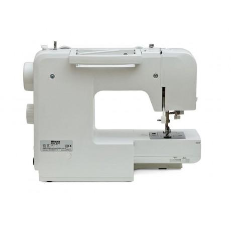 Masina de cusut electromecanica Minerva M23Q, 29 programe, 800 imp/min, 85W, Alb/Mov