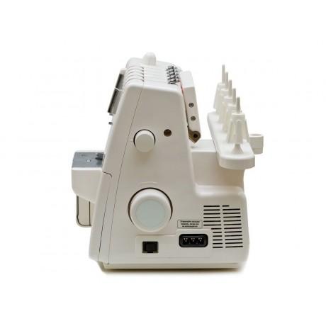 Masina de cusut combinata Minerva Coverlock M3000CL, 14 programe, 1300 imp/min, 105W, Alb