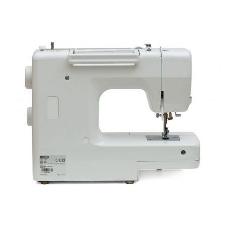Masina de cusut electromecanica Minerva M320, 32 programe, 800 imp/min, 85W, Alb/Bronz