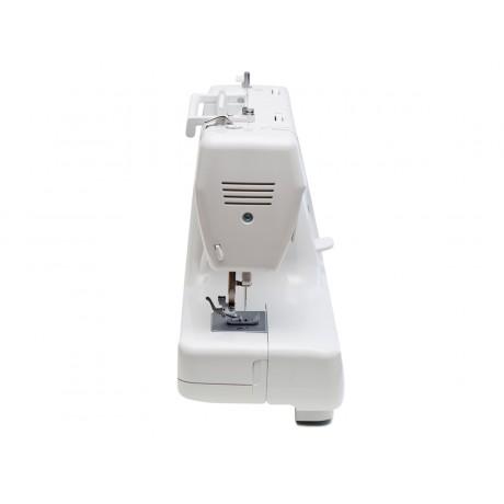 Masina de cusut electromecanica Minerva M819B, 19 programe, 800 imp/min, 85W, Alb
