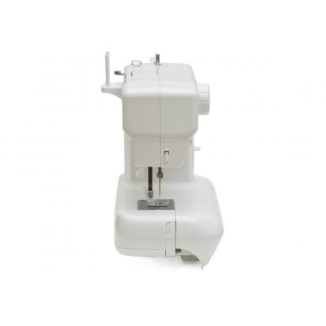 Masina de cusut electromecanica Minerva MAX10M, 10 programe, 800 imp/min, 70W, Alb/Rosu
