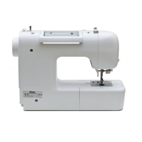 Masina de cusut digitala Minerva MC120, 110 programe, 800 imp/min, 70W, Alb/Roz