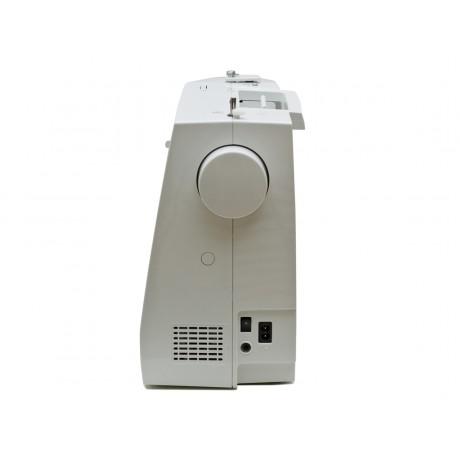 Masina de cusut digitala Minerva MC250C, 197 programe, 800 imp/min, 70W, Alb/Gri