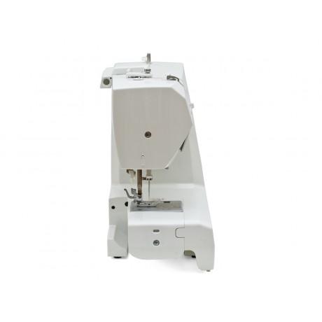 Masina de cusut digitala Minerva MC350C, 310 programe, 800 imp/min, 70W, Alb/Albastru
