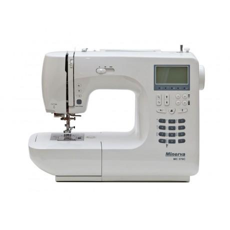 Masina de cusut digitala Minerva MC370C, 341 programe, 800 imp/min, 70W, Alb
