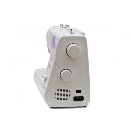 Masina de cusut electromecanica Minerva NEXT141D, 14 programe, 850 imp/min, 70W, Alb/Mov