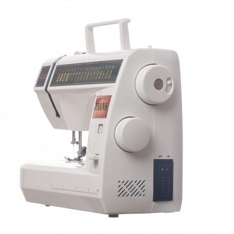Masina de cusut electromecanica Veritas JSA18, 18 programe, 800 imp/min, 60W, Alb/Albastru