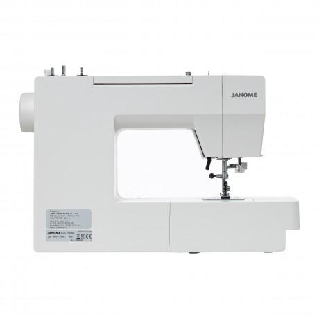 Masina de cusut electromecanica JANOME 1522DG, 25 Programe, 860 Imp/Min, 60W, Alb/Gri