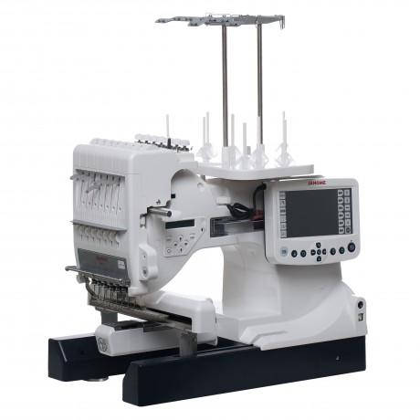 Masina de brodat JANOME MB-7, 50 modele incorporate, 860 spm, 90W, Alb
